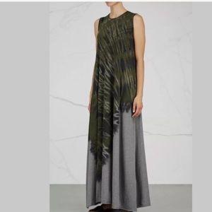 Raquel Allegra tie dye maxi dress Sz 3 L/XL